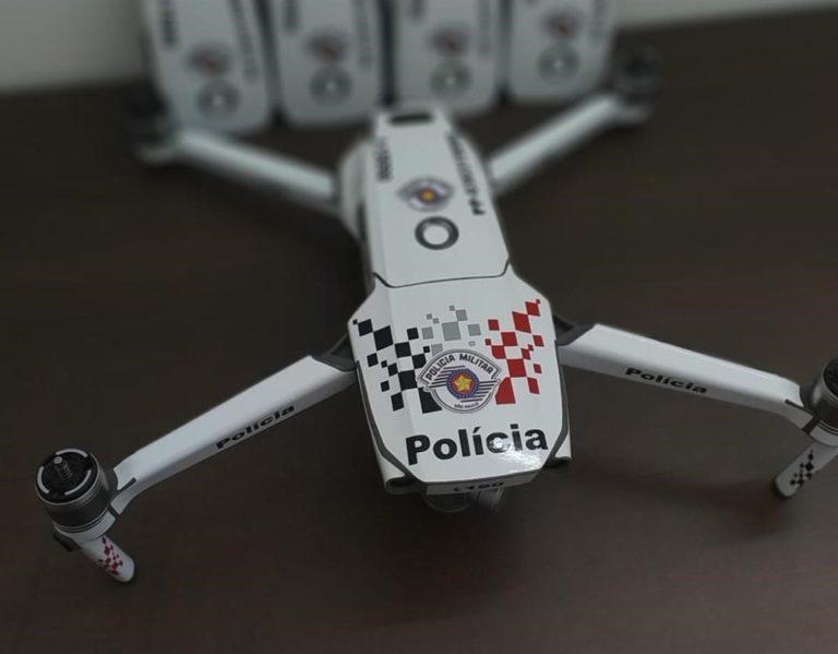 Drones Monitoramento de Praças